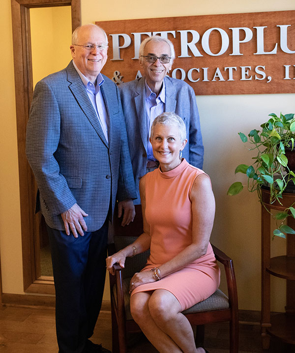 Parry Petroplus and his partners Jerry Summers and Laury Waltz
